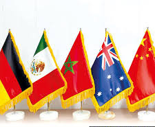 چاپ پرچم رومیزی ملل
